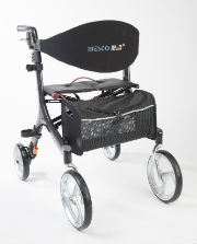 Foto: Fahrbare Gehhilfe - Bescomed Carbon  Rollator